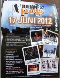 Poster Julianapop